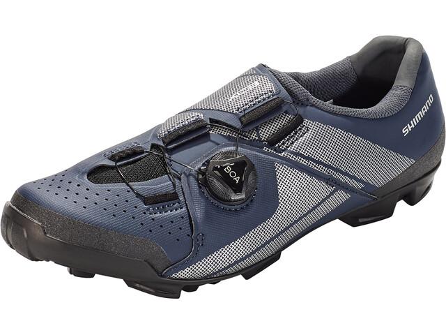 Shimano SH-XC3 Bike Shoes Wide Men, azul